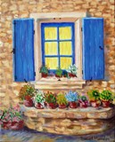 Window & Flower Pots